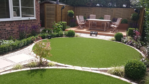 Small Garden Cheshire