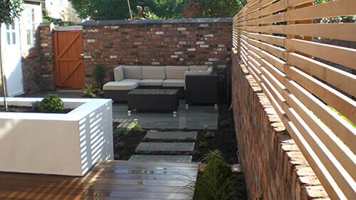 Contemporary Courtyard Chester