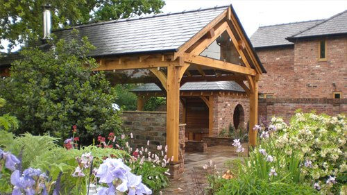 Large Private Garden slide