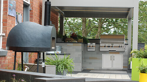 Urban Office Outdoor Kitchen slide