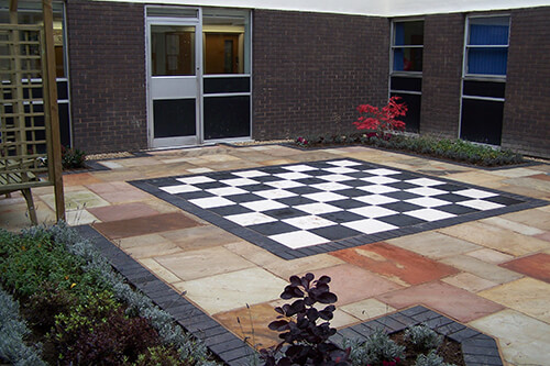 Chester Hospital - Chequerboard Paving