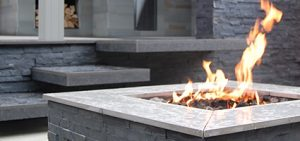 Outdoor Living Areas - Firepit (Outdoor Living Spaces in Cheshire, South Manchester & Wirral)