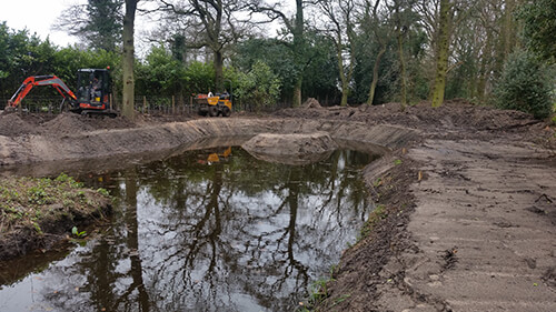 Large Country Estate - New Ponds Constructed