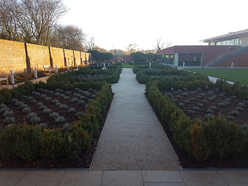 Double Tree Hotel Chester - Feature Planting Areas (Commercial Landscape Contractors in Cheshire, South Manchester & Wirral)