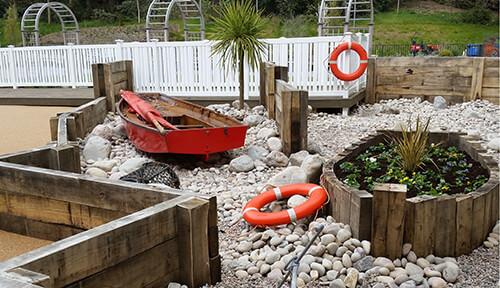 FED Heathlands Village Care Home - Sea Worn Cobbles