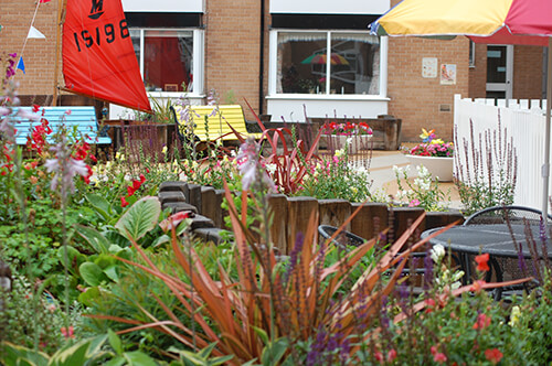 FED Heathlands Village Care Home - Theming and Styling Garden (Landscaping Commercial in Cheshire, South Manchester & Wirral)