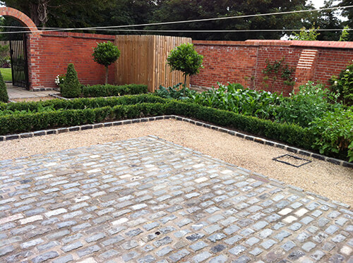 Grade II Listed Rectory – Handbridge - Natural Sandstone Paving