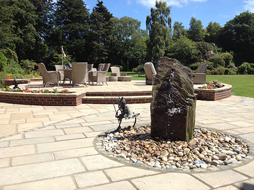 Large Garden - Dee Estuary - Hand Selected Slate Sculptural Water Feature