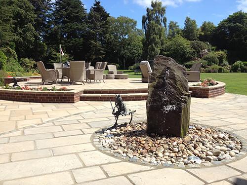 Large Garden - Dee Estuary - Hand Selected Slate Sculptural Water Feature
