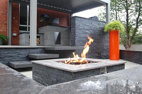 Outdoor Firepit at Urban Landscapes