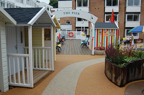 FED Carehome seaside garden