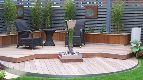 Contemporary Garden Chester