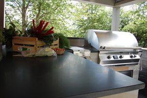 urban landscapes outdoor kitchen bbq