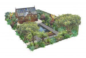 RHS Tatton show park garden