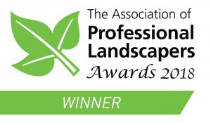 Winner of The Professional Landscapers Award 2018