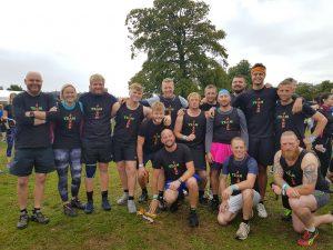 Our Team At Tough Mudder 2018 at Cholmondeley Castle