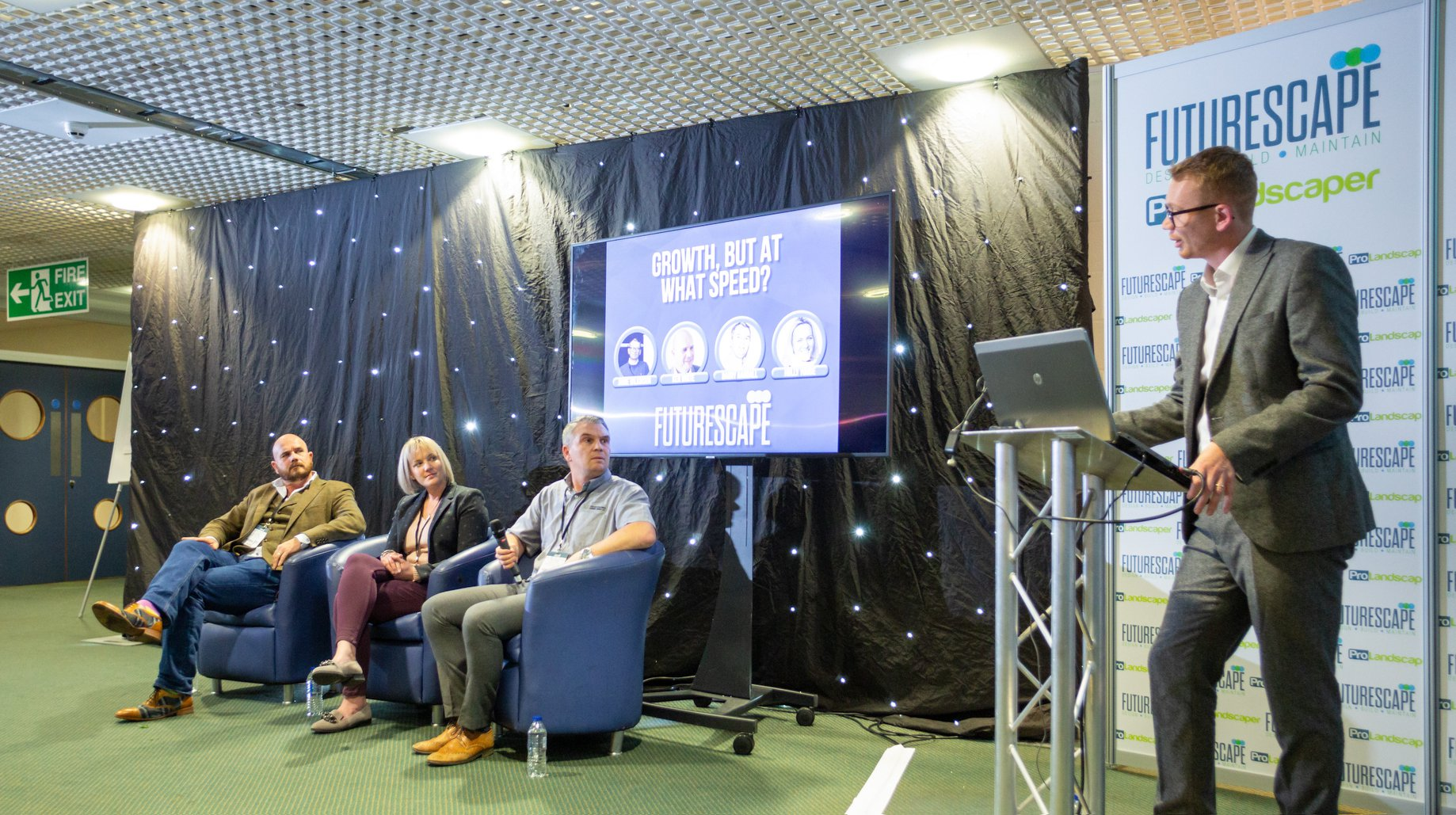 Speakers at Futurescape