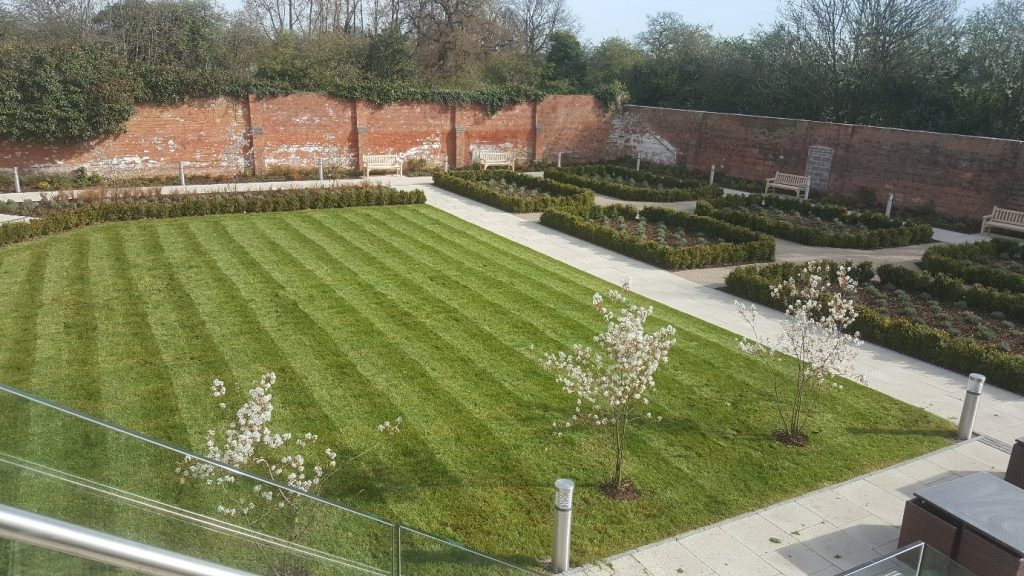 Double Tree Hilton Hotel, Chester- commercial landscaping