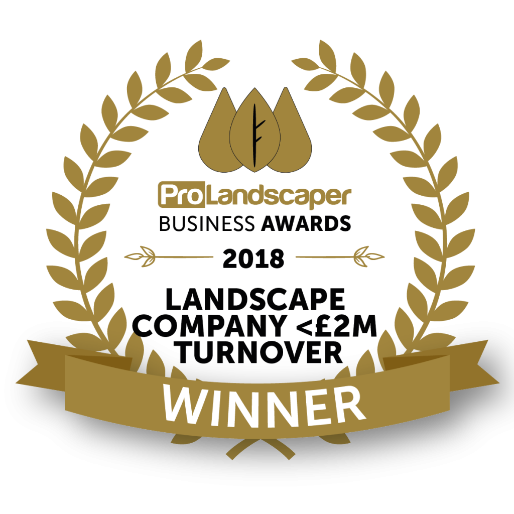 Pro Landscaper Business Awards Winners Logo