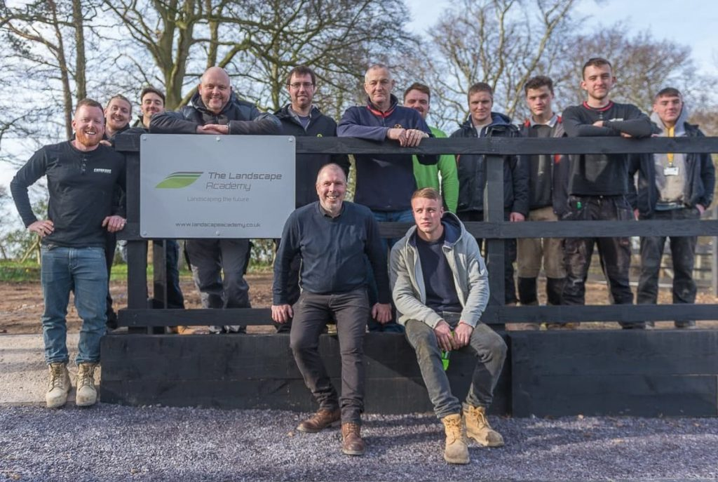 opening the new innovative landscaping training academy